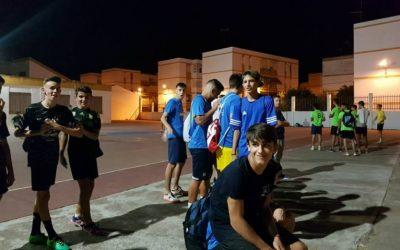 Comienzo Liga Nocturna Fútbol Sala