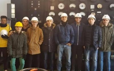 Visita a la central hidroeléctrica de El Carpio