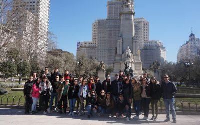 Visita Madrid Alumnos de Ciclos Formativos
