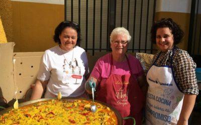 Paella Solidaria en nuestra Casa de Palma del Río
