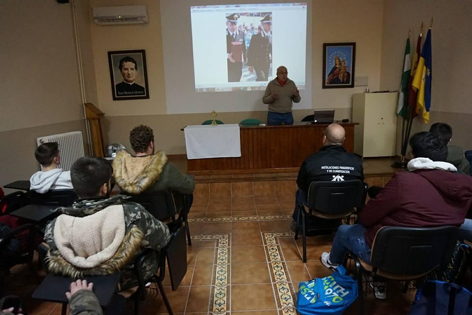 Presentación reliquias de Don Bosco