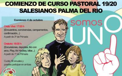 Comienza el Curso Pastoral en Salesianos Palma del Río