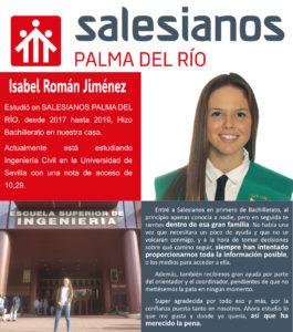 Testimonio Isabel Román Jiménez